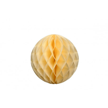 Méhsejt Gömb Honeycomb 20cm – fehér