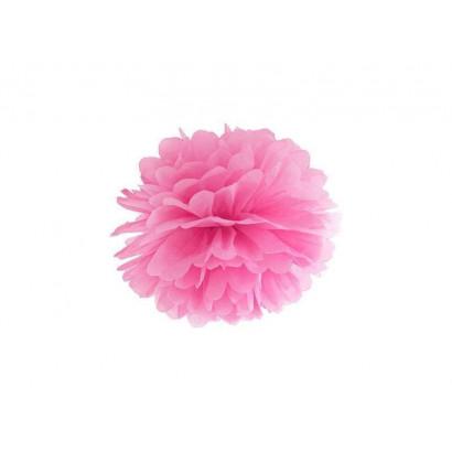 Selyempapír pompom 20cm, rózsaszín