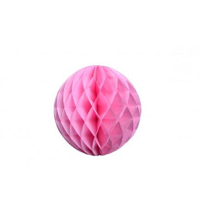 Méhsejt Gömb Honeycomb 20cm – rózsaszín