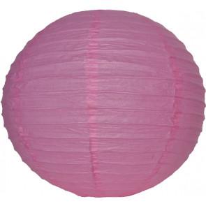Papír lampion 30cm – rózsaszín