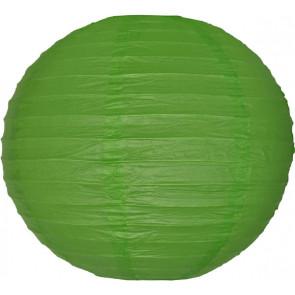 Papír lampion 30cm – zöld