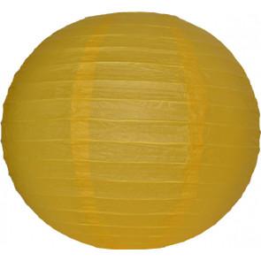 Papír lampion 30cm – sárga