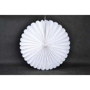 Papír rozetta 40cm fehér
