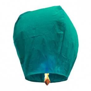 Kék repülő lampion ECO jókívánság lámpás, Kívánság lampion
