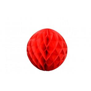 Méhsejt Gömb Honeycomb 20cm – piros