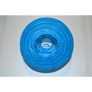 Papír lampion 40cm kék