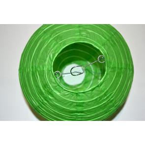 Papír lampion 40cm zöld