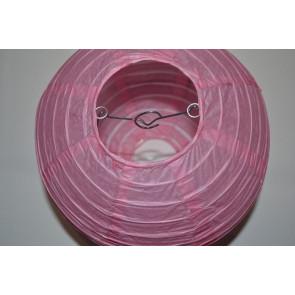 Papír lampion 20cm rózsaszín