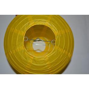 Papír lampion 40cm sárga