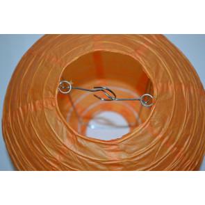 Papír lampion 40cm narancs