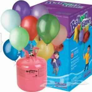 Egy használati hélium 250 l (30 lufira elegendő)