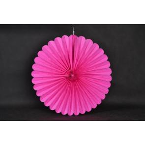 Papír rozetta 40cm lila