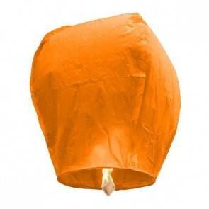 Narancssárga repülő lampion STANDARD jókívánság lámpás, Kívánság lampion