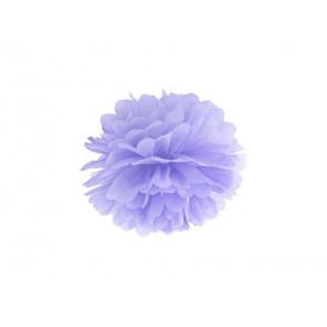 Selyempapír pompom 20cm, világos lila