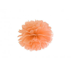 Selyempapír pompom 35cm, narancs