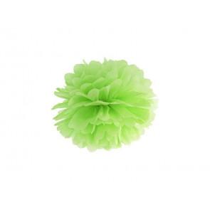 Selyempapír pompom 35cm, zöld