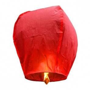 Piros repülő lampion STANDARD jókívánság lámpás, Kívánság lampion