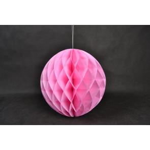 Méhsejt Gömb Honeycomb 20cm rózsaszín