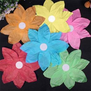 10 db úszó vízi lámpás - virág alakú