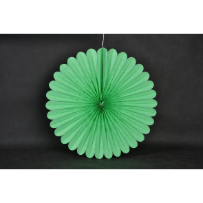 Papír rozetta 40cm zöld