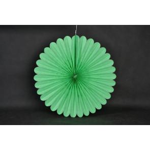 Papír rozetta 20cm zöld