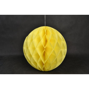 Méhsejt Gömb Honeycomb 20cm sárga